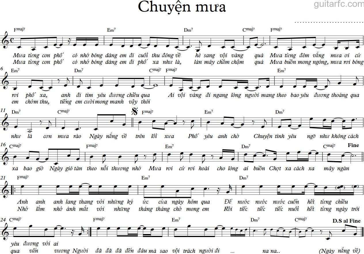 Chuyen mua - C