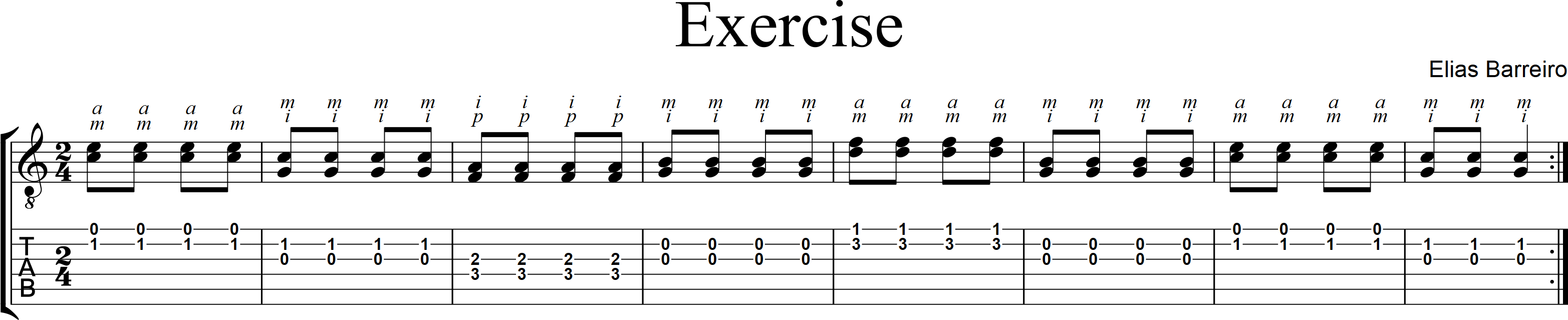 Exercise in C - Elias Barriero