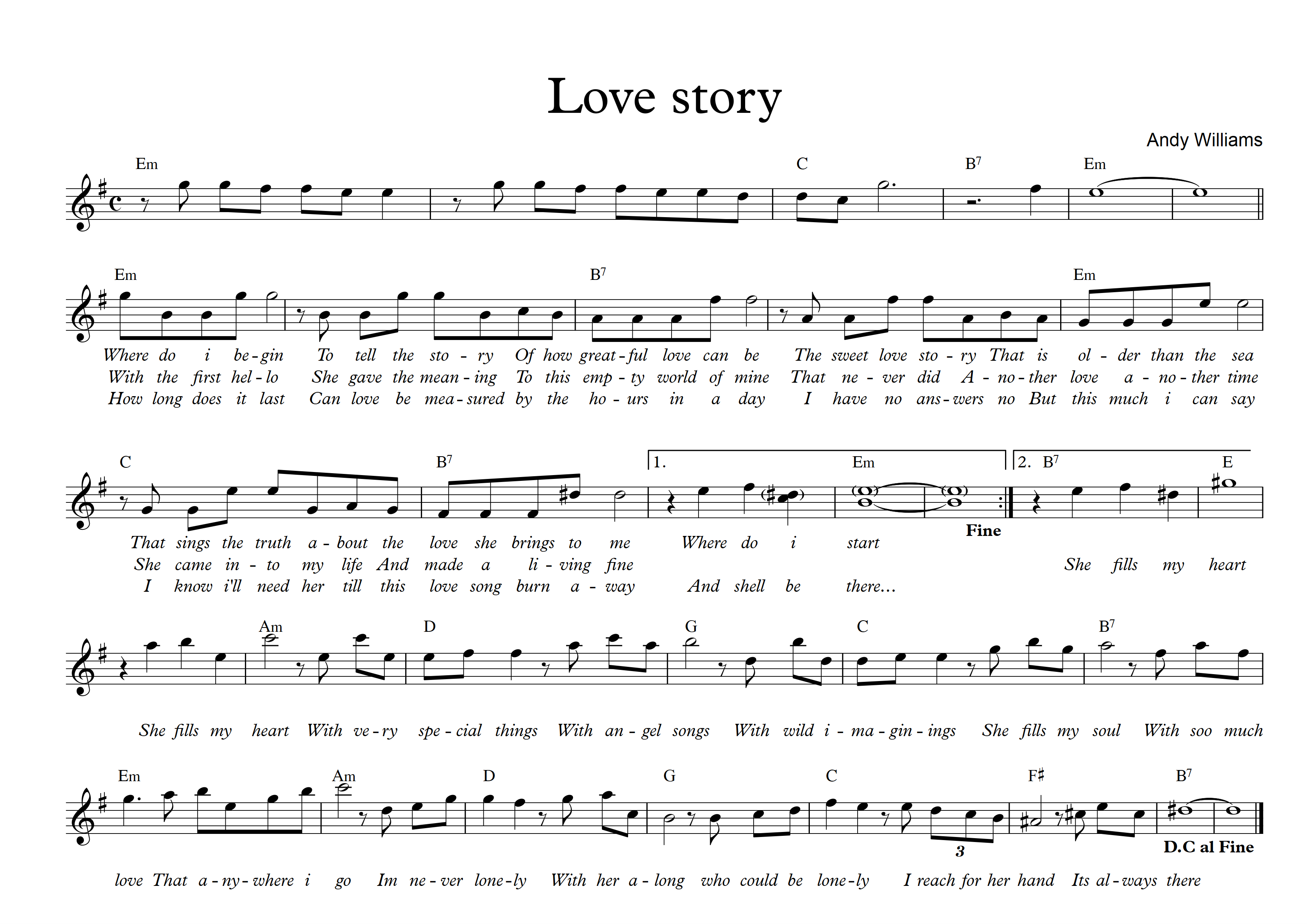 Love story - Em