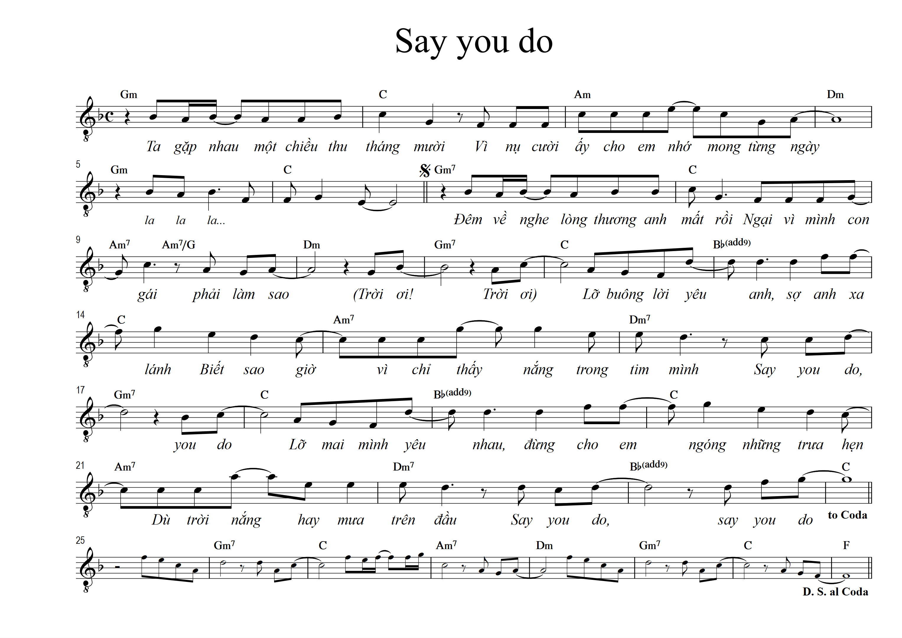 Say you do 1