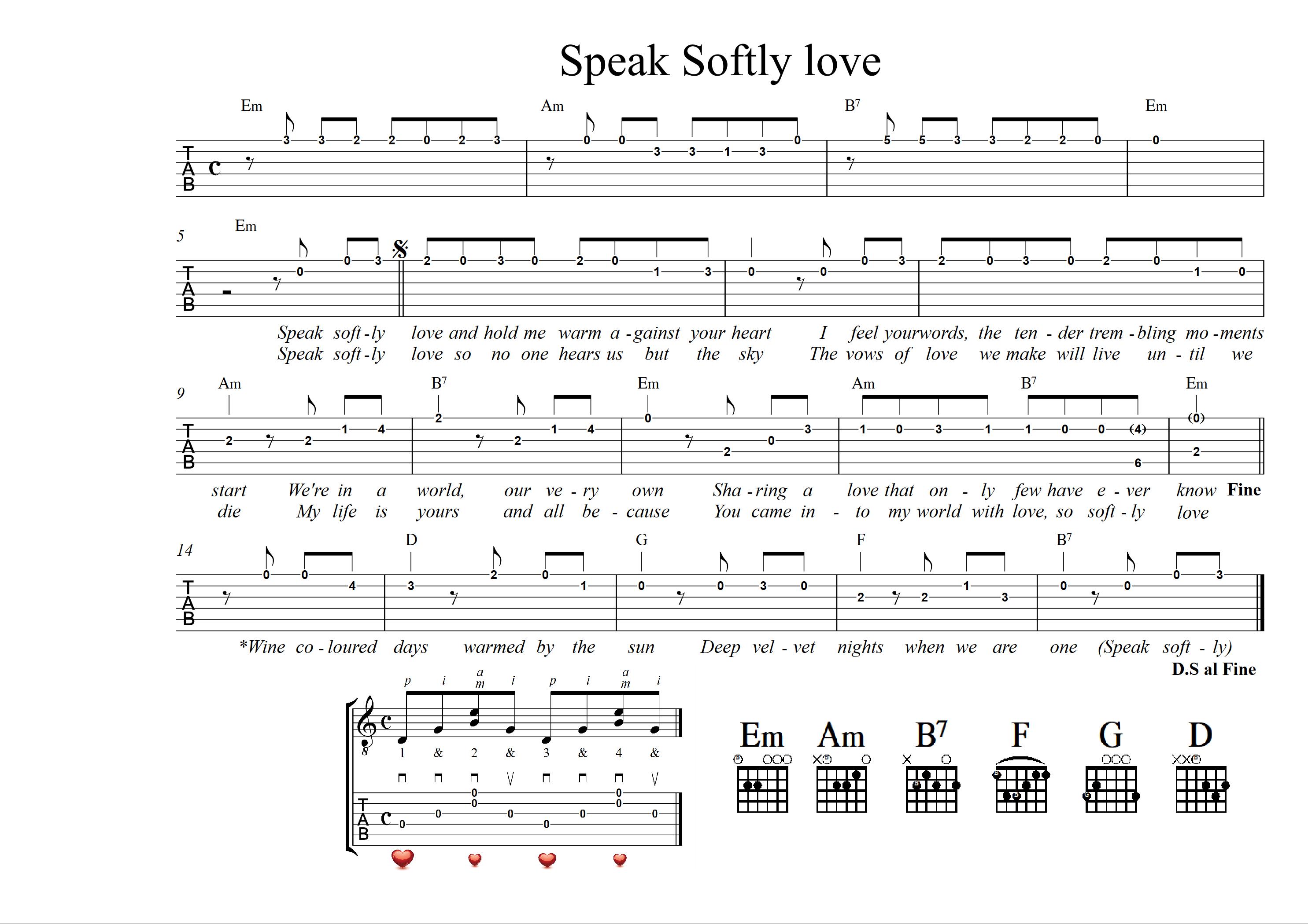 08 Speak softly love - 2