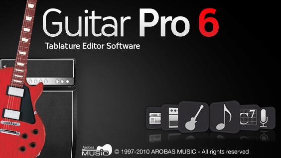 phan mem Guitar Pro 6 logo