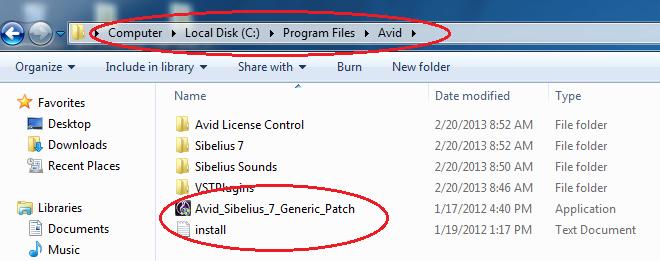 Hướng dẫn cài đặt phần mềmsibelius 7 full